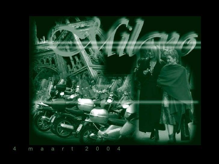 Milano Presentazione1
