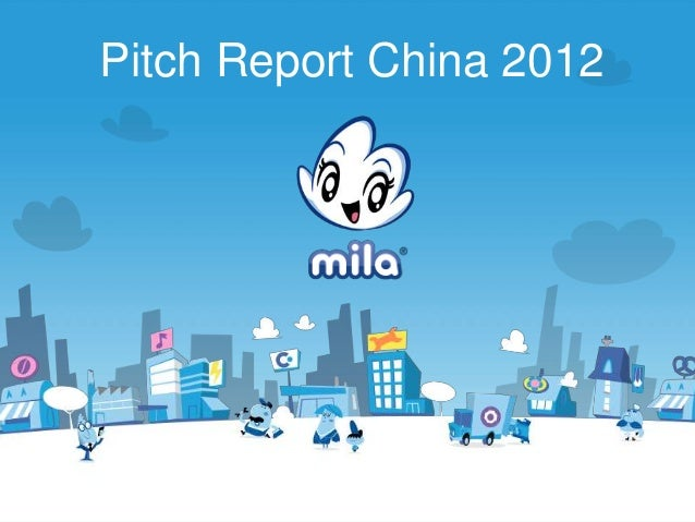 Pitch Report China 2012