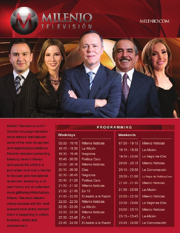Milenio  Television