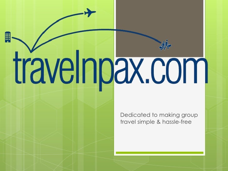 Dedicated to making grouptravel simple & hassle-free