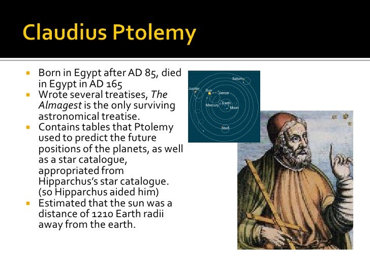 ptolemys astronomy essay