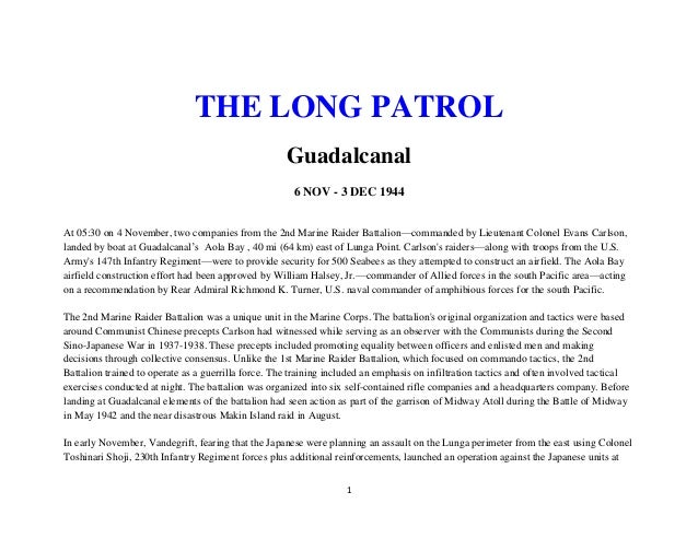 Mil hist   wwii the long patrol