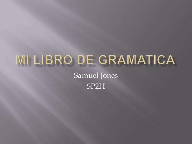 Mi Libro de Gramatica