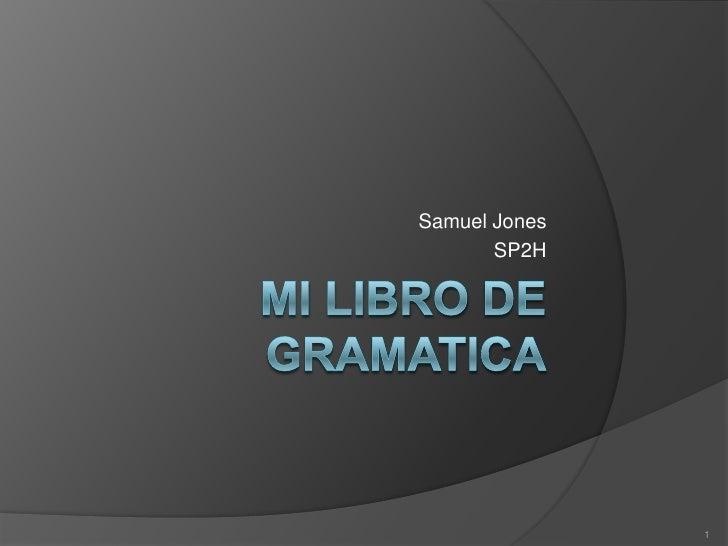 Samuel Jones       SP2H               1