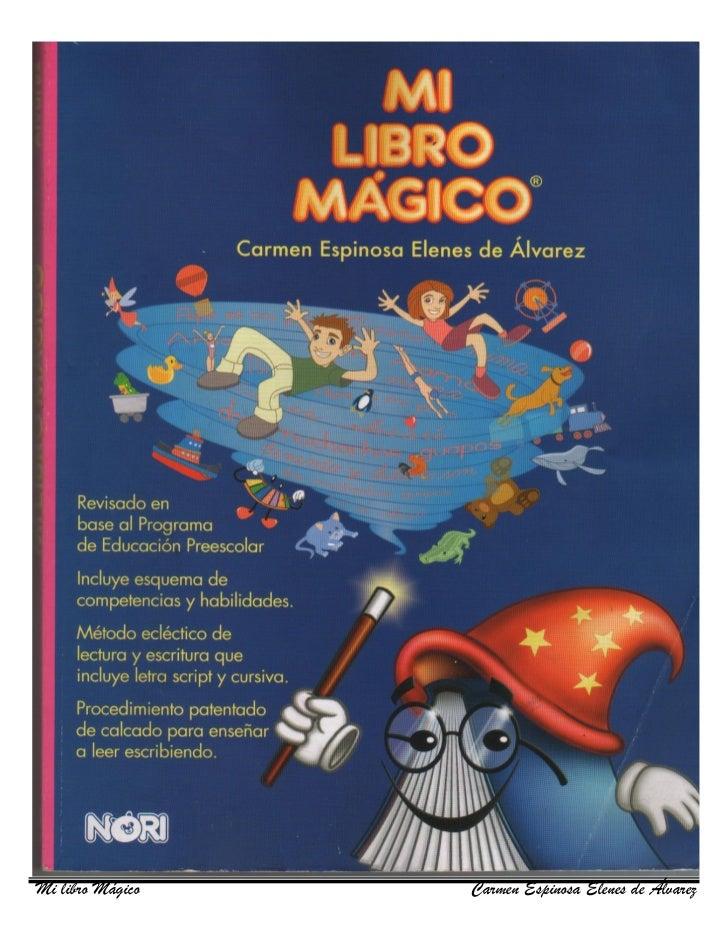 Mi libro Mágico   Carmen Espinosa Elenes de Álvarez