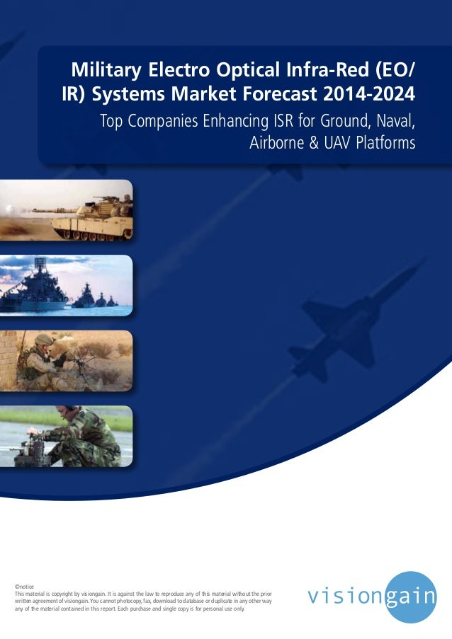Military Electro Optical Infra-Red (EO/ IR) Systems Market Forecast 2014-2024 Top Companies Enhancing ISR for Ground, Nava...