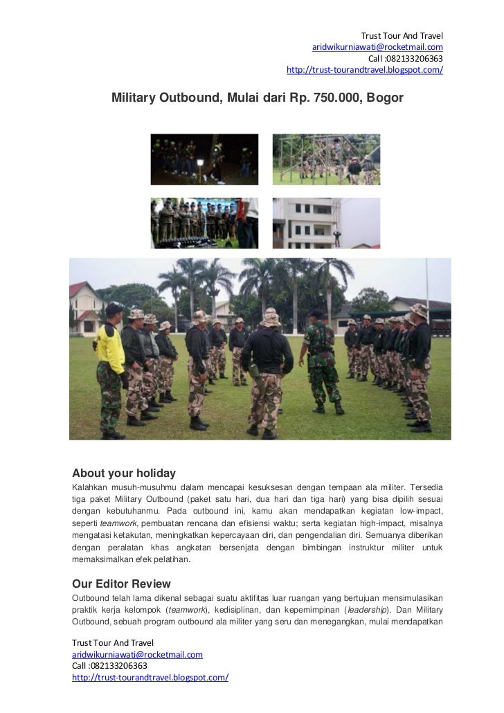 Trust Tour And Travel                                                             aridwikurniawati@rocketmail.com         ...