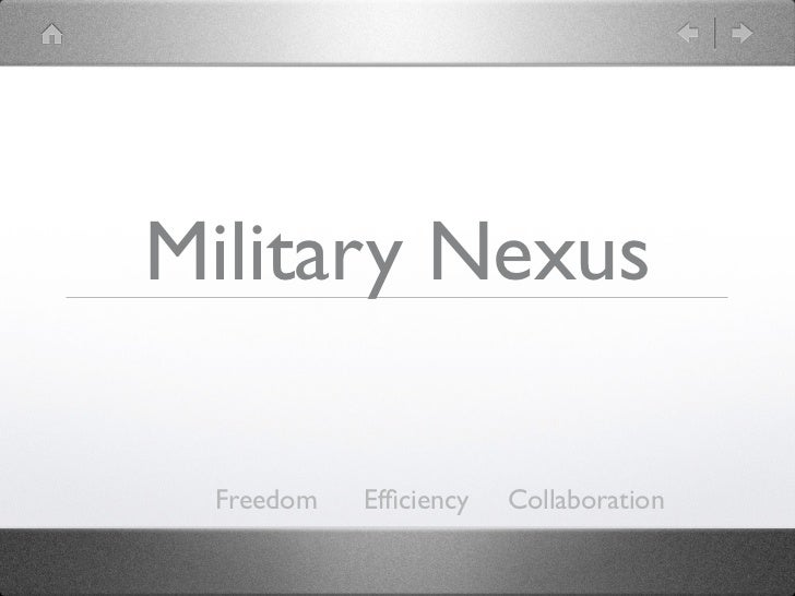 Military Portal Overview