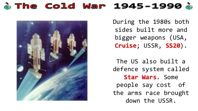 Causes of the Cold War in 1945