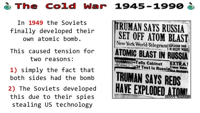 the arms race and the cold war The beginnings of the cold war arms race reviews the state of american military affairs in the late 1940s and describes the role of atomic power in american strategy it also outlines the factional fighting within the truman administration over military spending and deployments and considers the truman administration's perceptions of soviet .