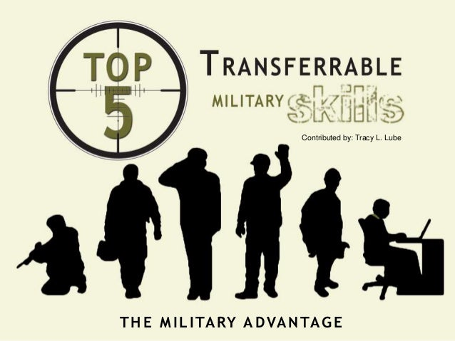 Contributed by: Tracy L. Lube THE MILITARY ADVANTAGE