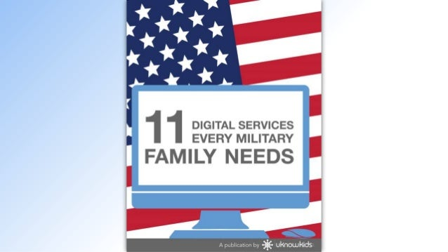 11 Digital Services Every Military Family Needs