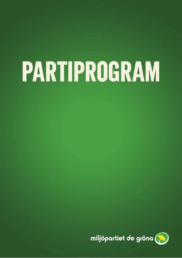 1 PARTIPROGRAM