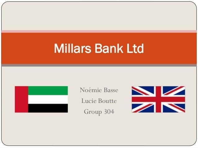 Noémie Basse Lucie Boutte Group 304 Millars Bank Ltd