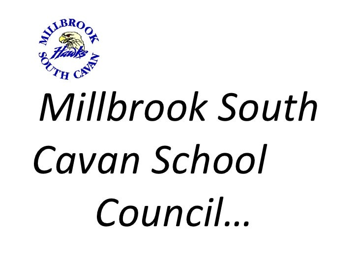 Millbrook South Cavan School  Council…