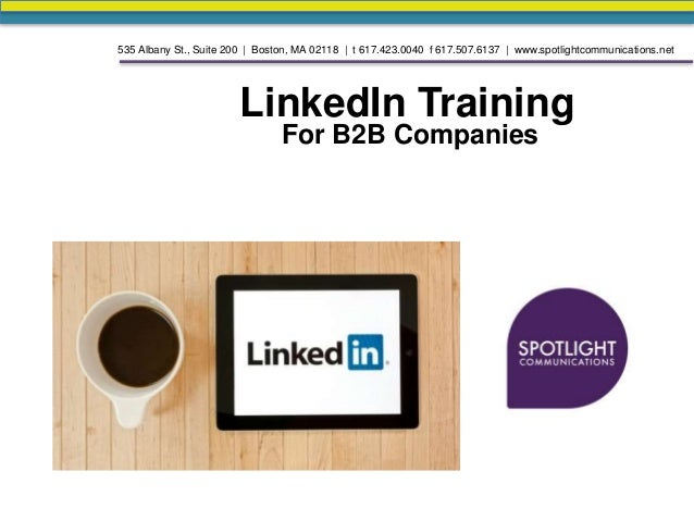 Using LinkedIn for Service-Based B2B Industries