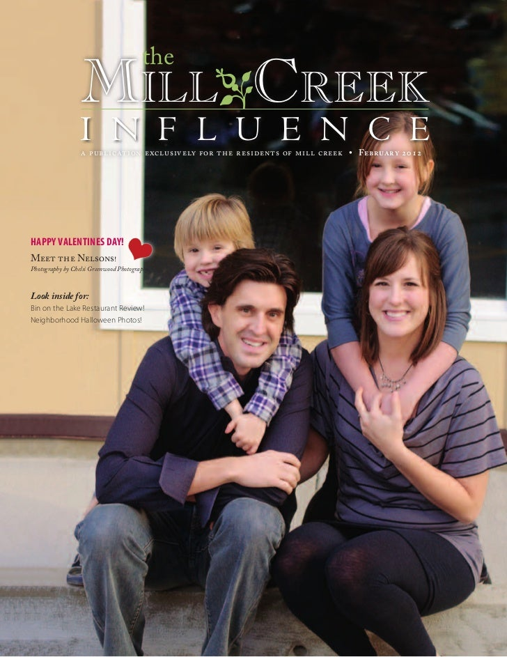 the                  MilloCreek                  i n f l u e n c e                  a publication exclusively for the resi...