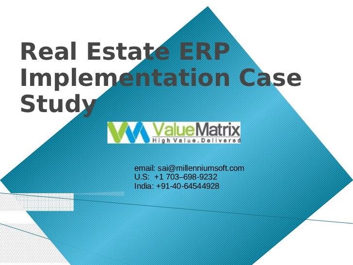 Millenium soft real estate-