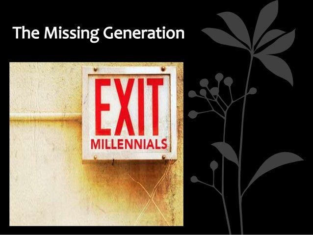 The Millennial Exodus: Why 20-Somethings left the Church
