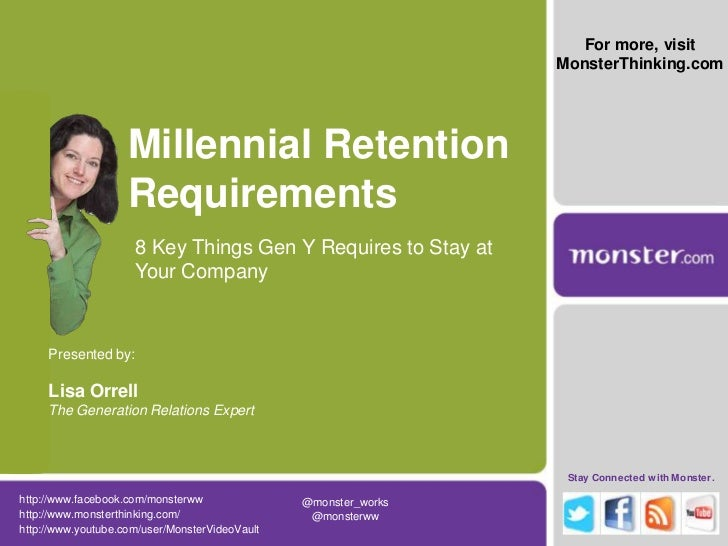 8 Requirements for Retaining Millennials