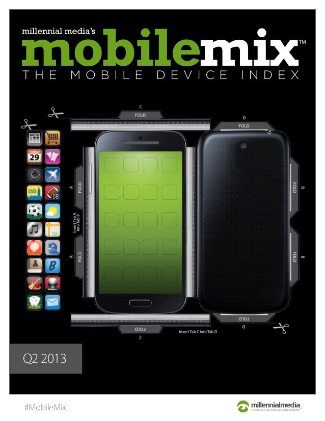 Millennial Media's Q2 2013 Mobile Mix Report