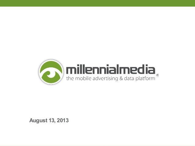Millennial Media / JumpTap Merger details