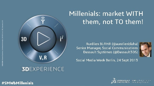 Millennials: Market with them, not to them