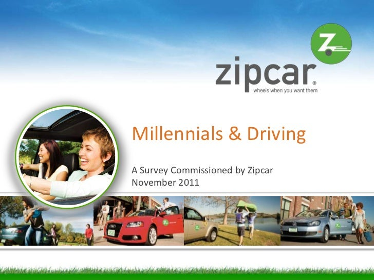 Millennials & Driving: A Survey Commissioned by Zipcar