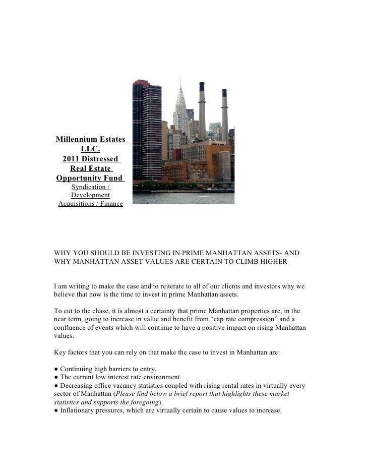 Millennium estates llc