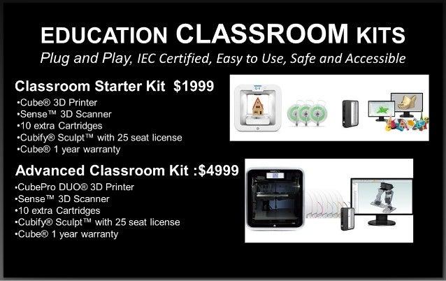 Miller 3D - Rabais de 57% sur Kit Education avec la Cube (FR)