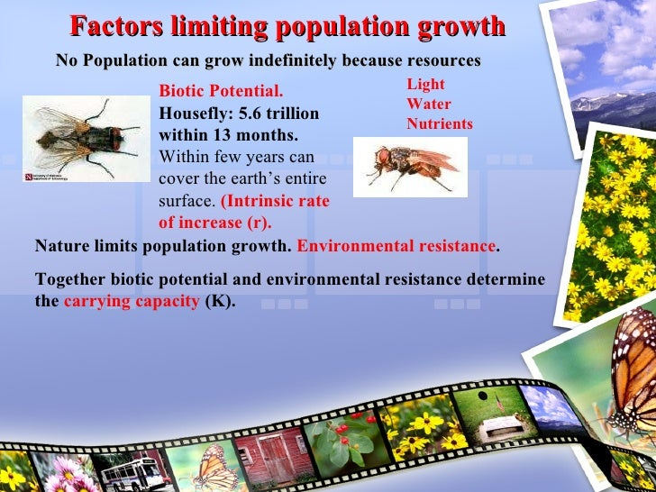 factors affecting population distribution The distribution of human world population in 1994 key in biology, a population is all the organisms of the same group or species.