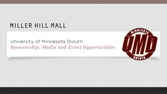 University of Minnesota Duluth Sponsorship, Media and Event Opportunities