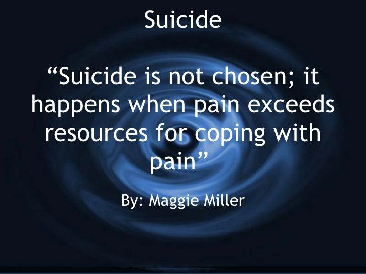 Miller Suicide