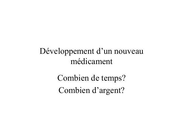 La complexité du développement pharmaceutique et ses conséquences sur le développement de nouvelles thérapies pour lutter contre les maladies négligées