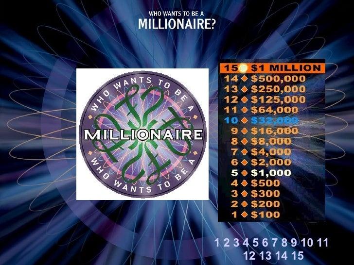 Millionaire Chemistry
