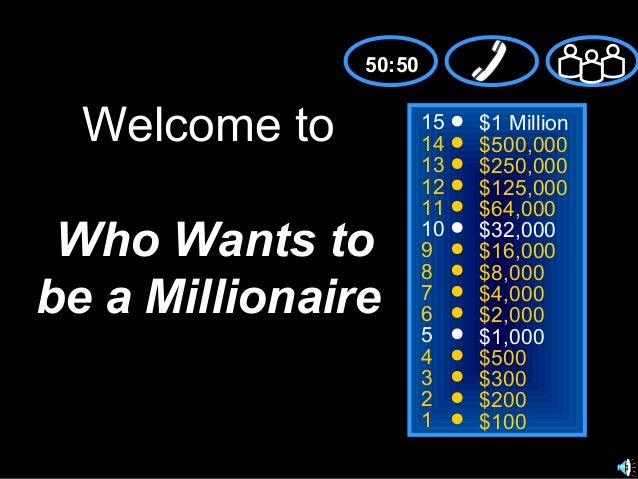 Millionaire (georgina,mªluisa and adrián)
