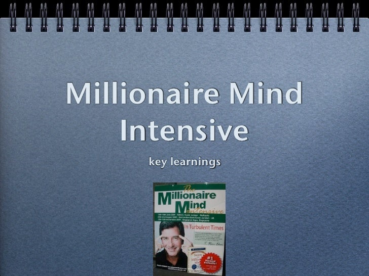 secret of the millionaire mind pdf