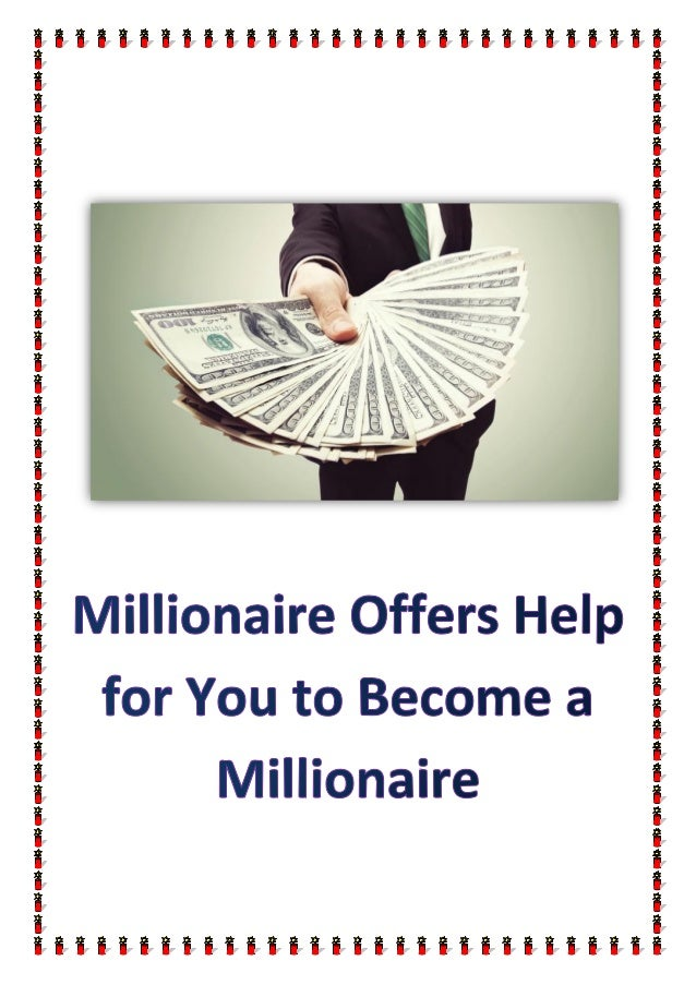 how to become an internet millionaire