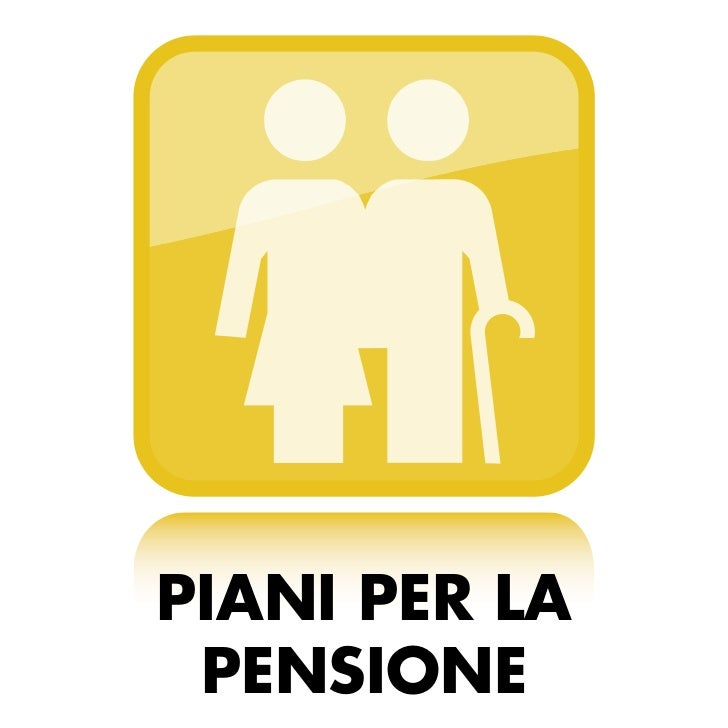 Milliora assicura piani per la pensione for Piani per la macchina