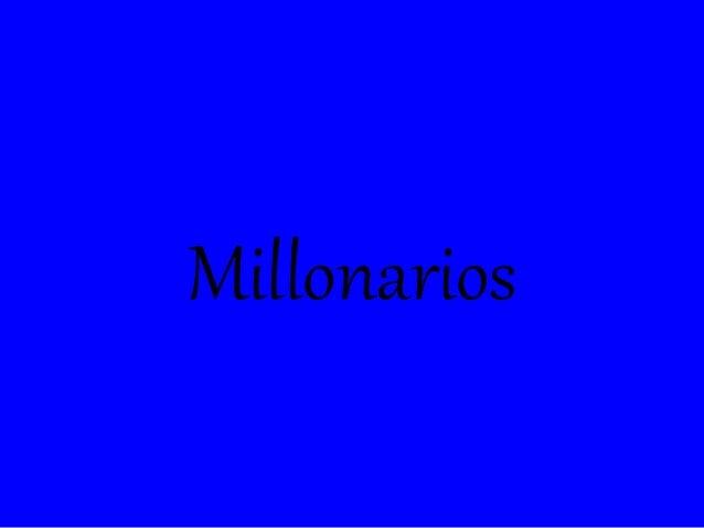 Millonarios barreto