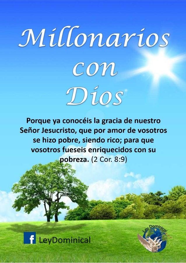 Millonarios con Dios - 6ta Revisión