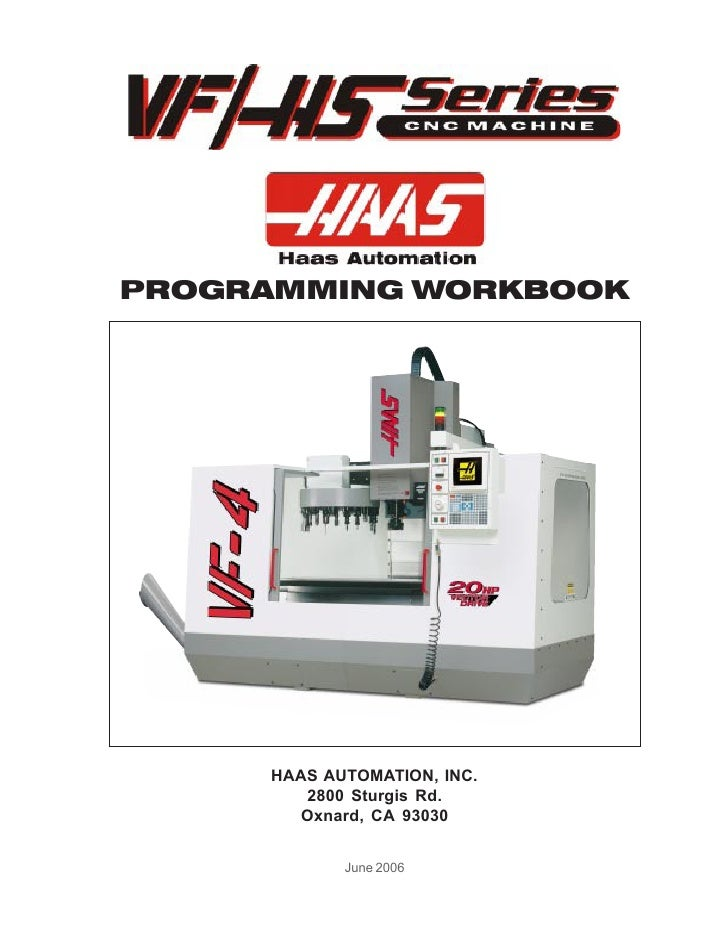 HAAS Mill Workbook