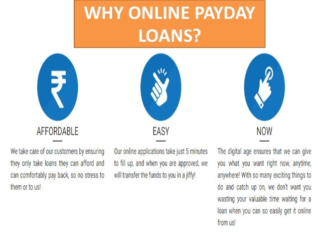 Online Payday Loans Requirements