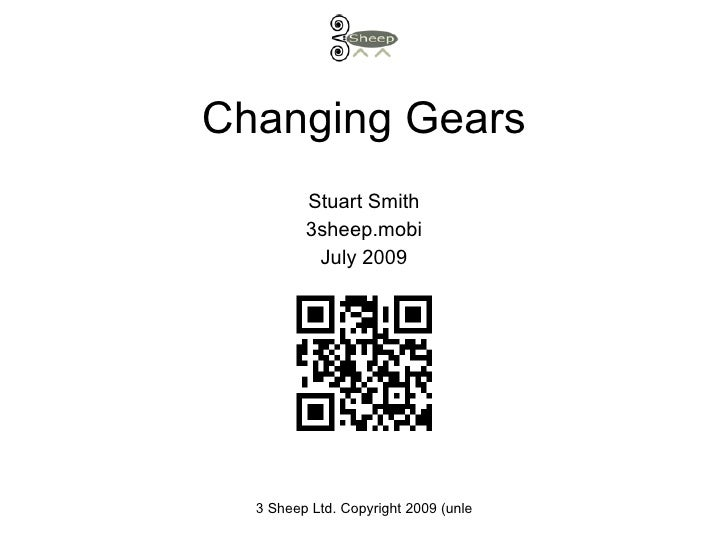 Changing Gear