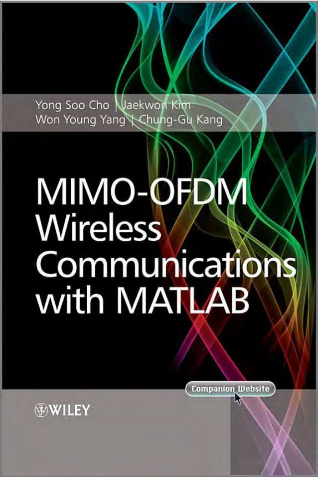 Mimo ofdm wireless communications with matlab