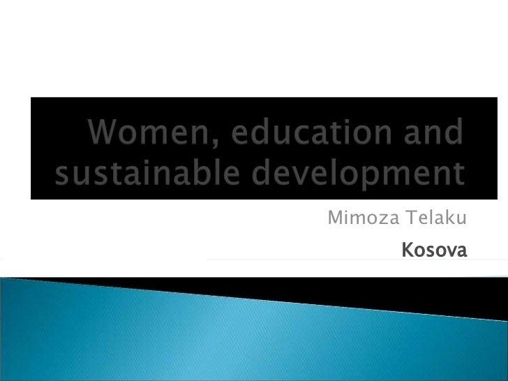 Mimoza Telaku Kosova