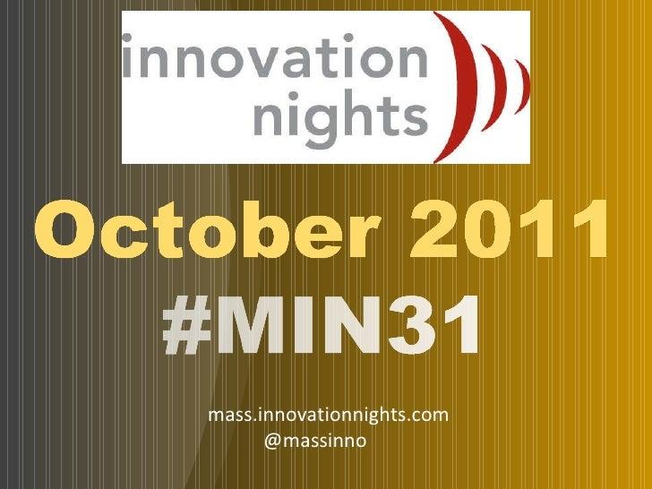 #Min31 event screenshow