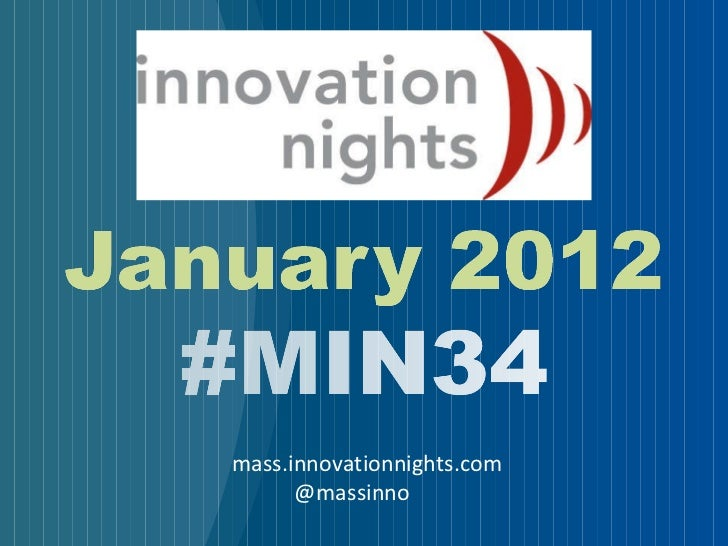 #MIN34 event screenshow