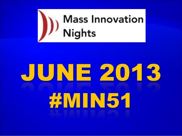 #MIN51 event slideshare