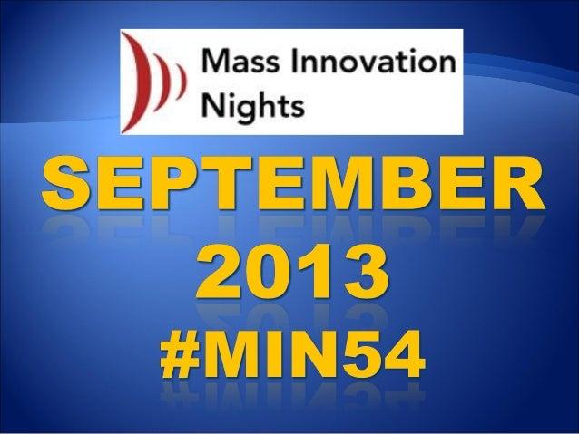 #MIN54 event slideshare